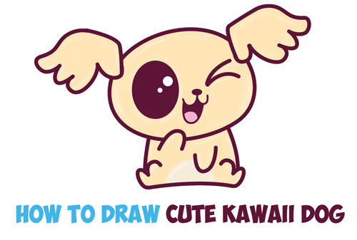 You Draw Cute Dog How