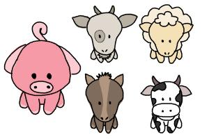 Image of: Step How To Draw Farm Animals For Kids Drawingnow How To Draw Farm Animals For Kids Drawingnow