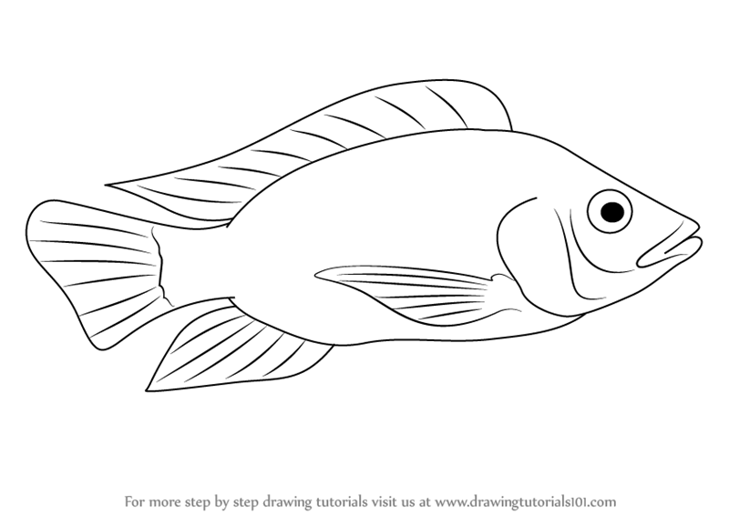 Cartoon Mouth Coloring Page