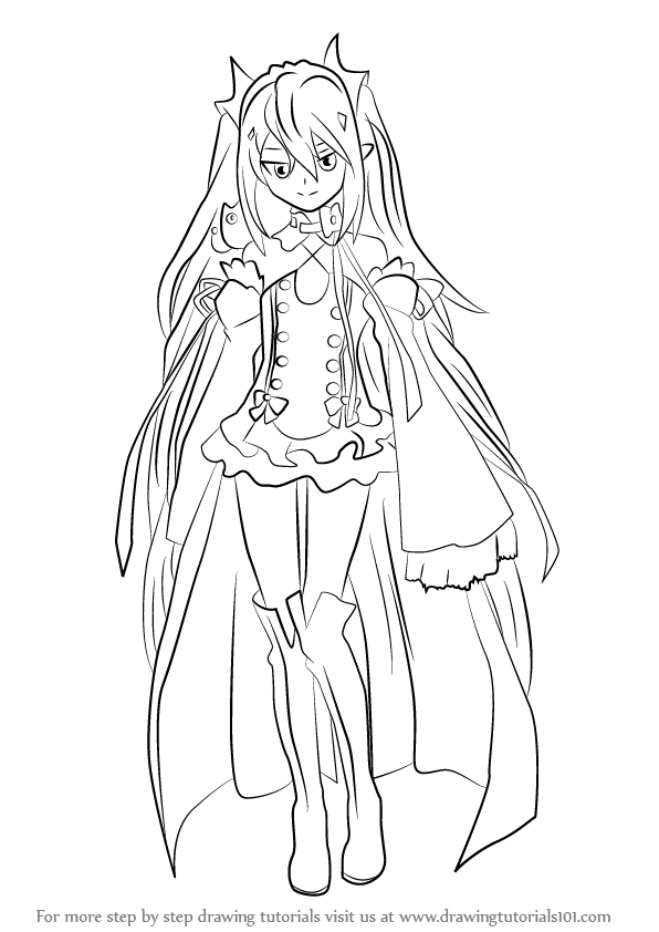 Easy Chibi Coloring Pages