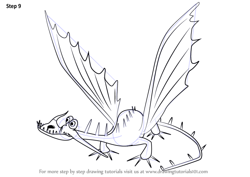 Boneknapper Dragon Coloring Pictures Coloring Pages