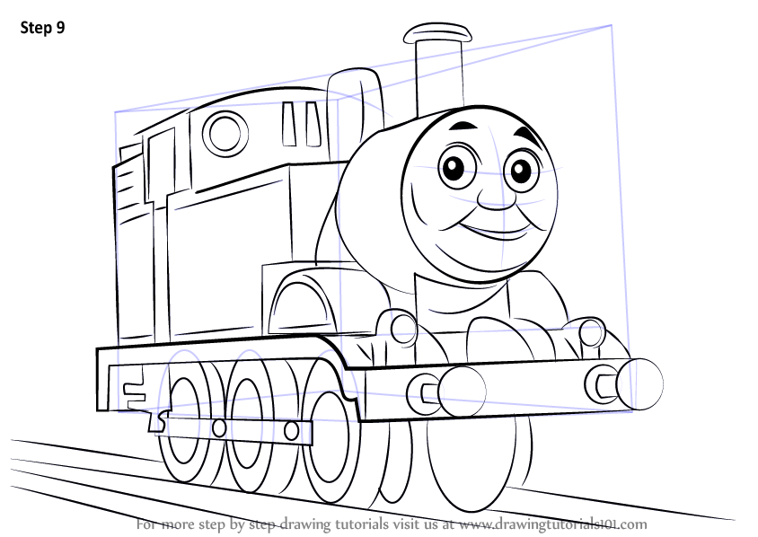 Learn How To Draw Thomas The Tank Engine Thomas Amp Friends