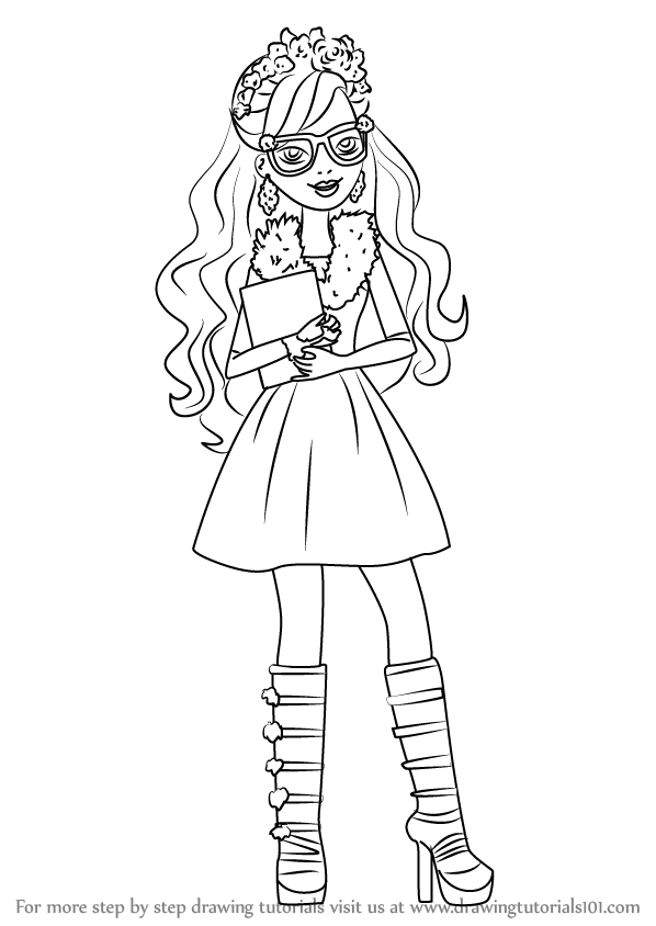 Learn How To Draw Rosabella Beauty From Ever After High