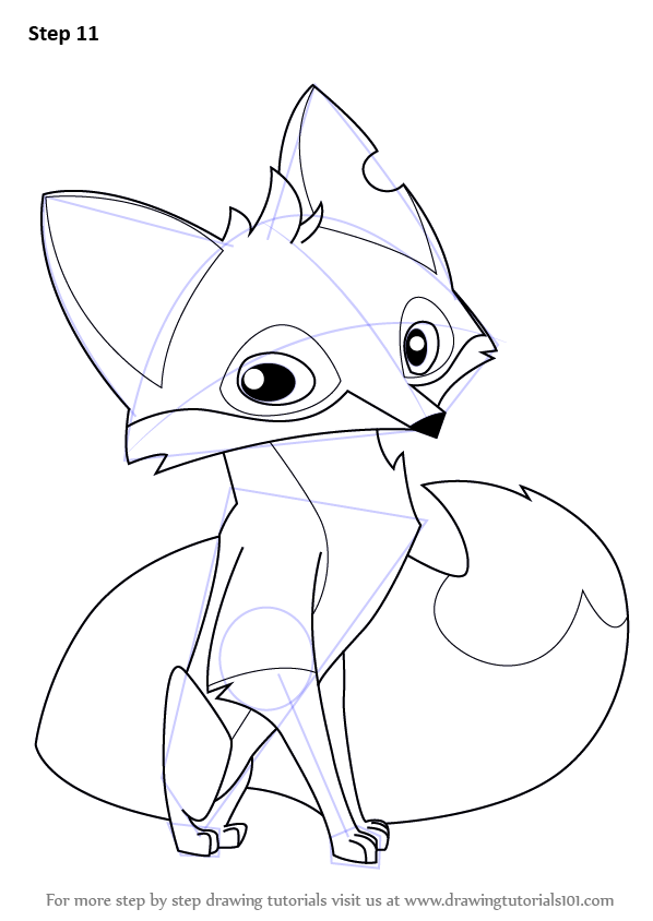 Fox Drawings Cute Wolf Girl