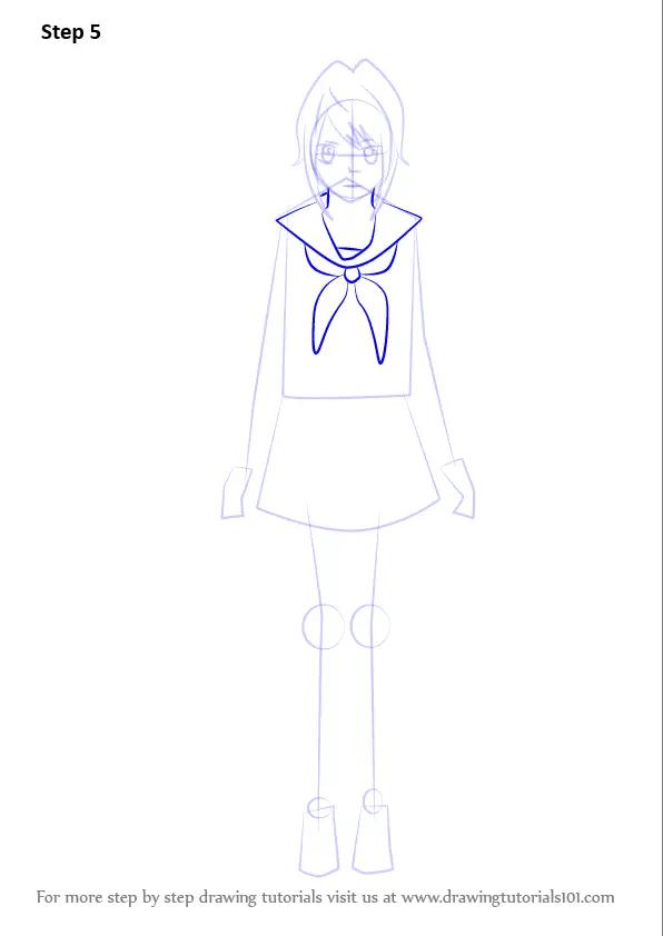 Characters Yandere Simulator Drawing
