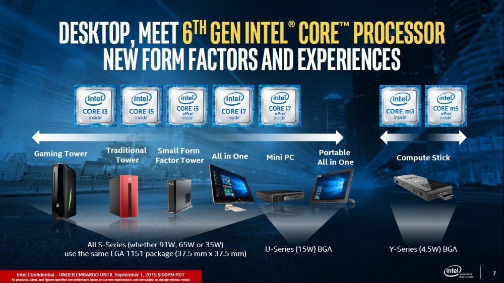Intel Introduced Skylake as Fastest Processors
