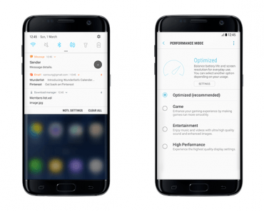 Cleaner Quick Panel and Notifications on the Samsung Galaxy S7 Edge
