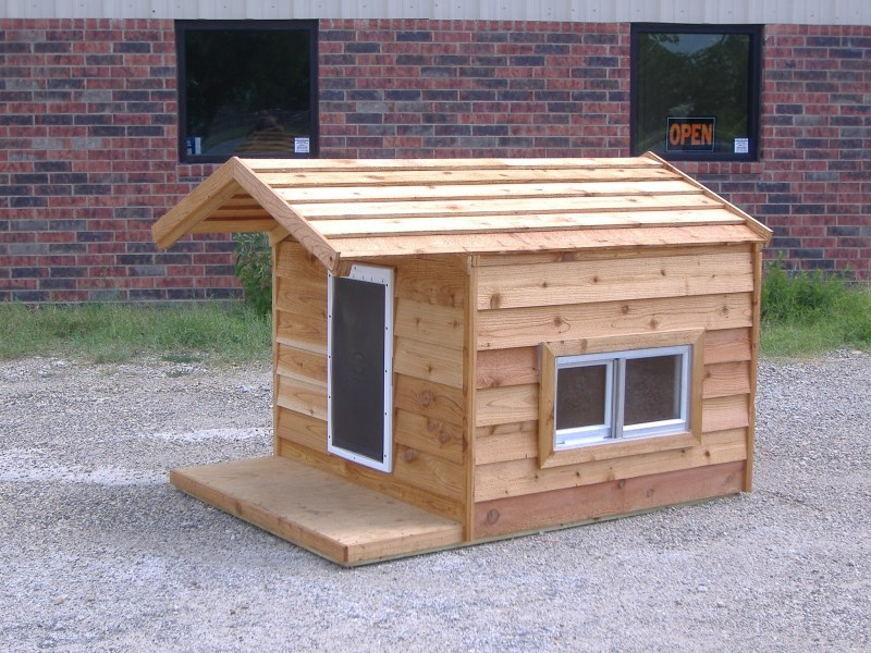 DIY Dog Houses     Dog House Plans  Aussiedoodle and Labradoodle     966e17fa05e9405b6fe6e134f9b75691 Dog House Condo 48x66x46 Custom Large  Insulated Heated Dog House with Porch Open Top 2 Windows Hound Heater Door