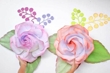 How to make large paper flowers for backdrop flowers online 2018 large paper flower backdrop for weddings baby showers or events large paper flower backdrop using wooden palettes as a backdrop and lots of paper flowers mightylinksfo