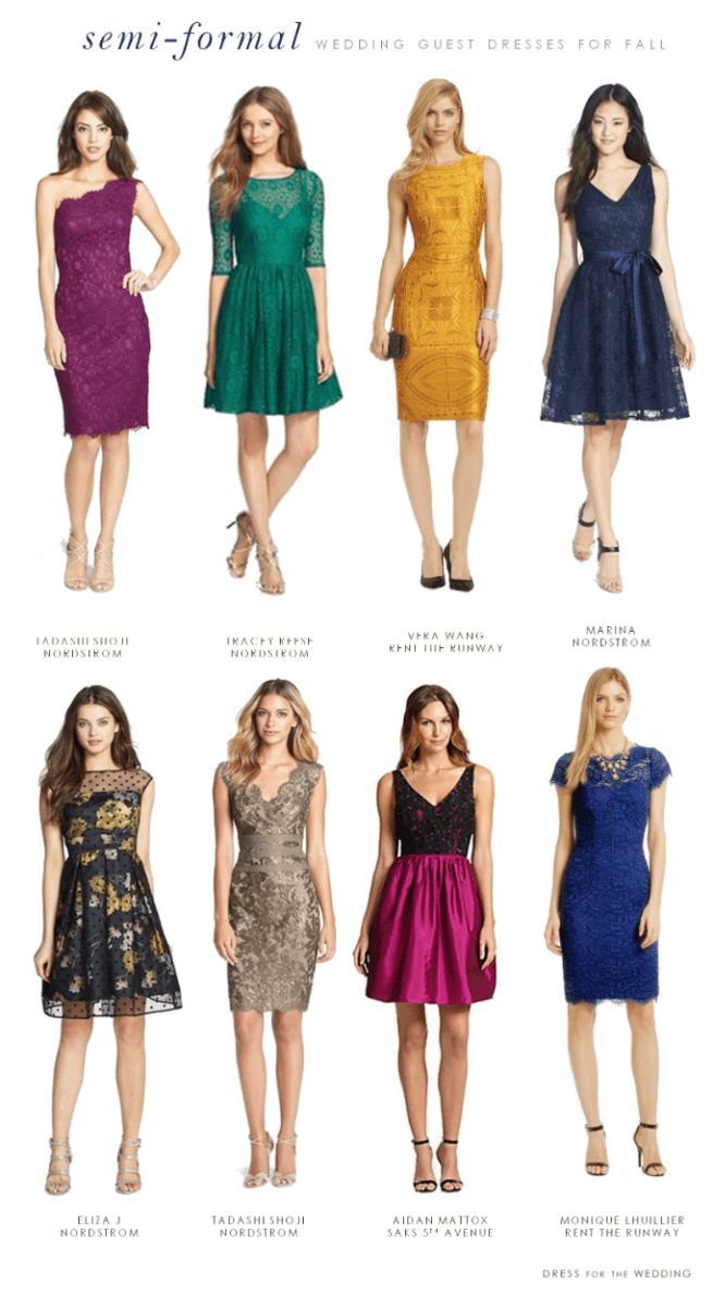 Semi Formal Wedding Guest Dresses