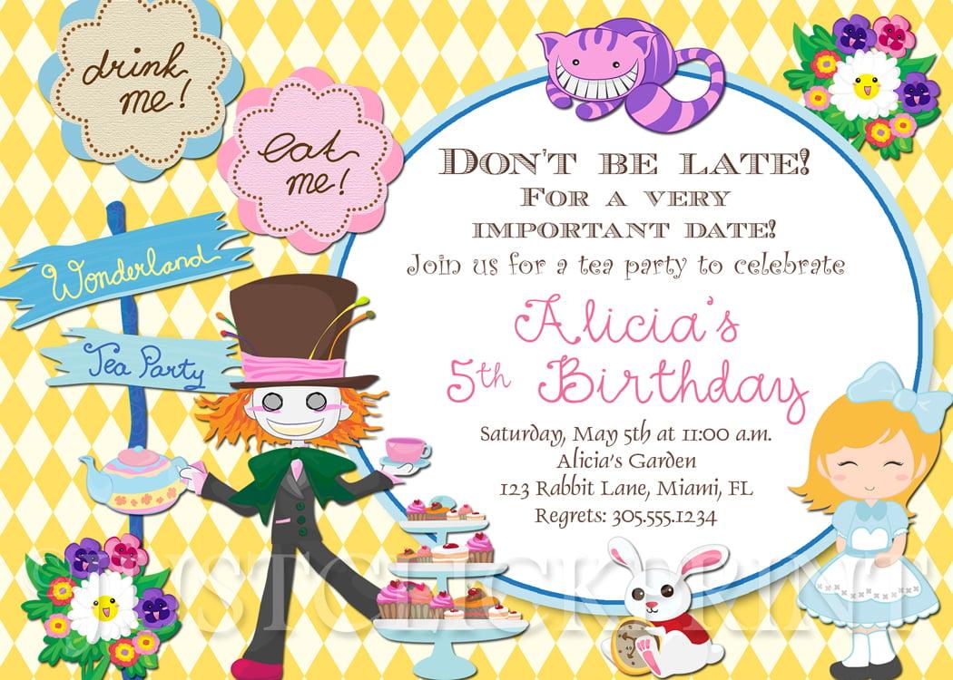 Afternoon Tea Bridal Shower Invitations