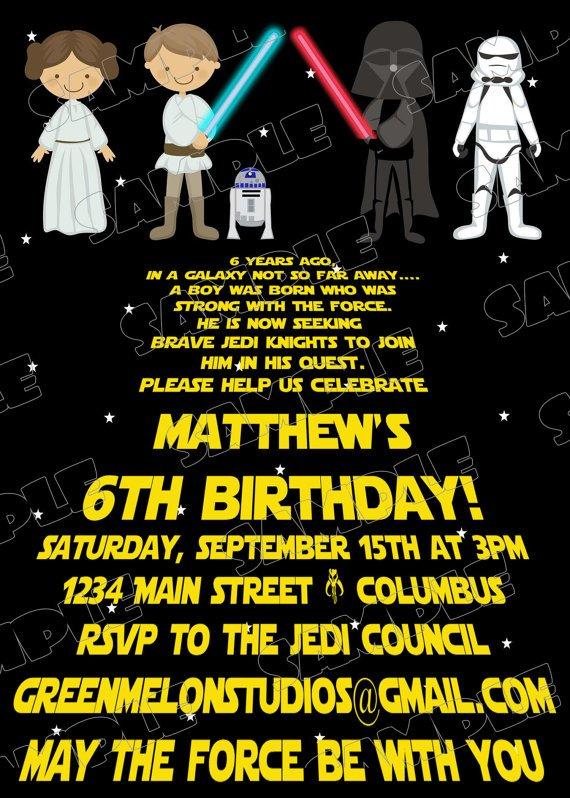 Birthday Invitation Greetings
