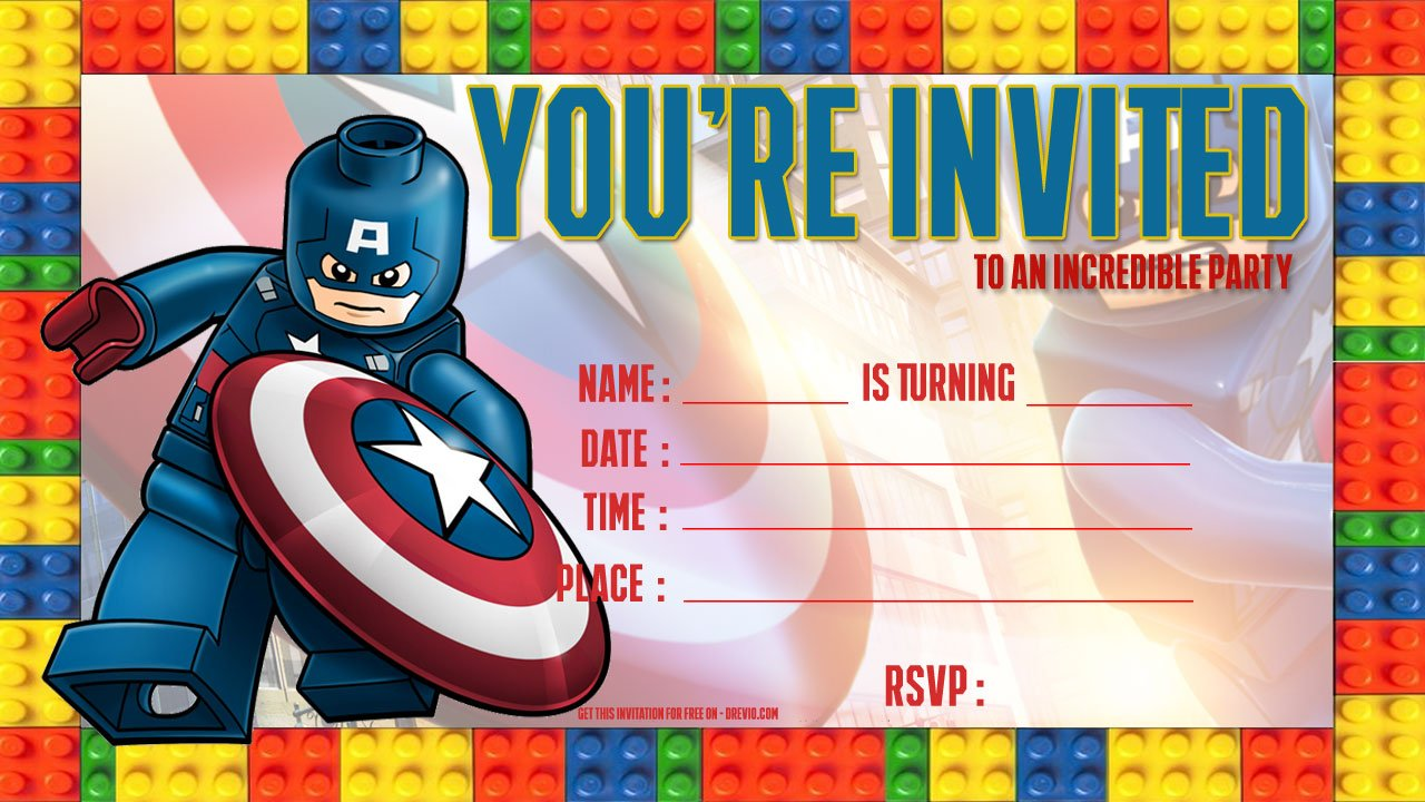 Fill Birthday Invitations