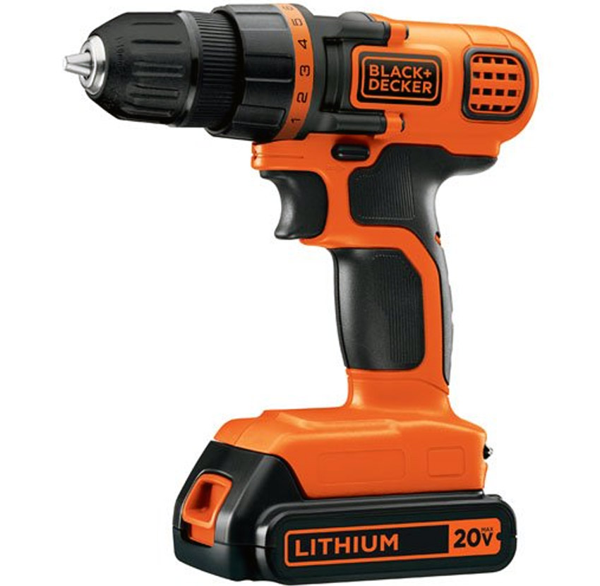 Black & Decker LDX120C and LDX112C Cordless Drill Review