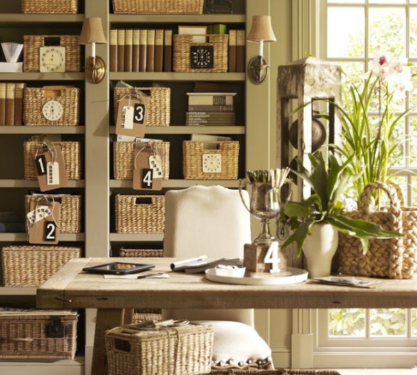 Decorative Baskets  Inspiration for Using Them in Your Home   Driven     Pottery Barn