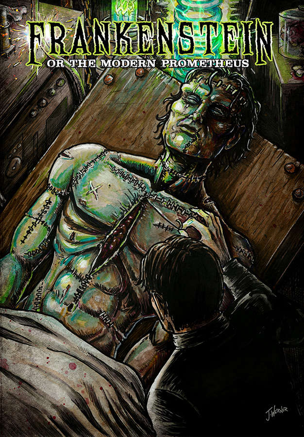Frankenstein: Or the Modern Prometheus (Graphic Novel ...