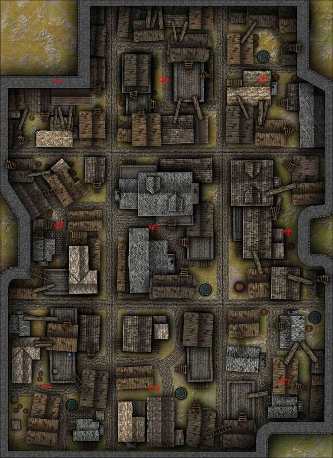Dungeons And Dragons Miniatures Maps