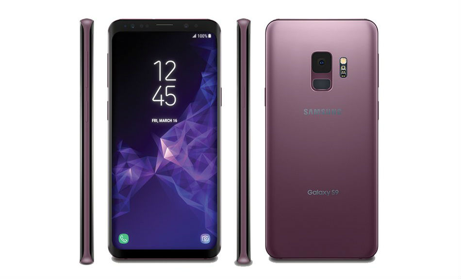 Here's the Samsung Galaxy S9, Galaxy S9+ in 'Lilac Purple ...