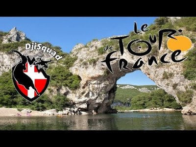Tour de France 2016 – Vallon Pont d'Arc | Dronestagram
