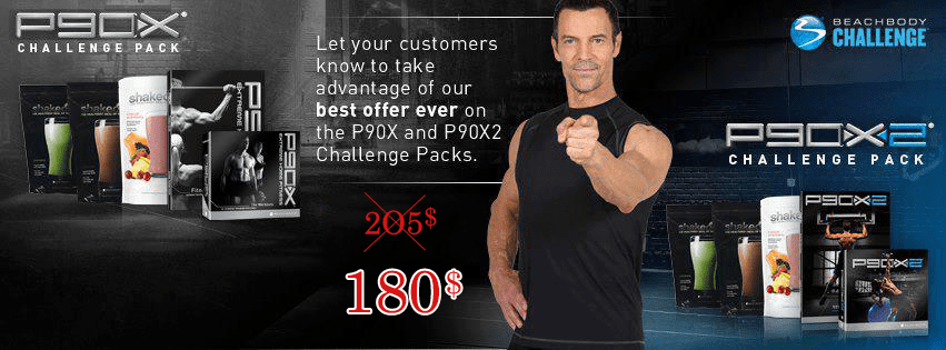 P90X Challenge Pack and P90X2 Challenge Pack on Sale ...