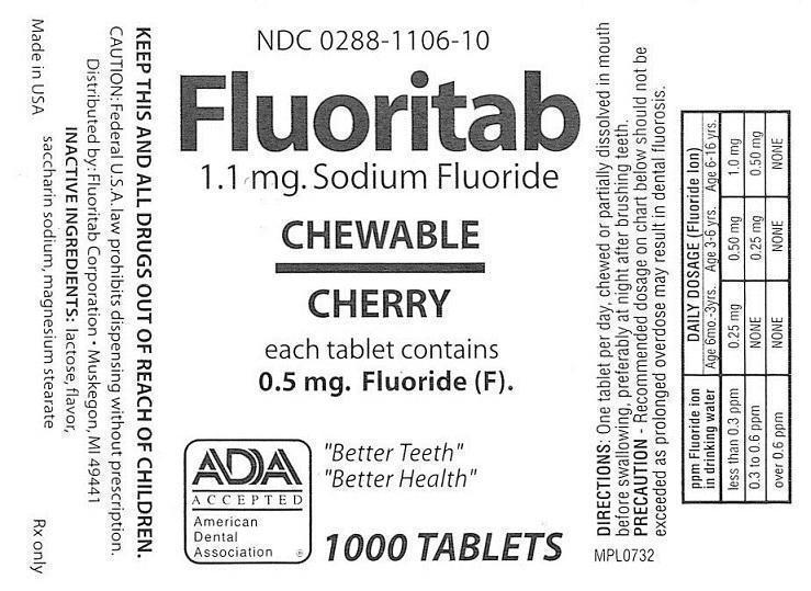 Sodium Tablets Fluoride