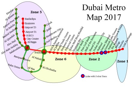 dubai metro map zones » Full HD MAPS Locations - Another World ...