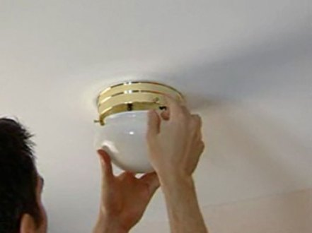 How to Replace a Ceiling Fixture   dummies 1Turn off the power to the fixture or the whole house