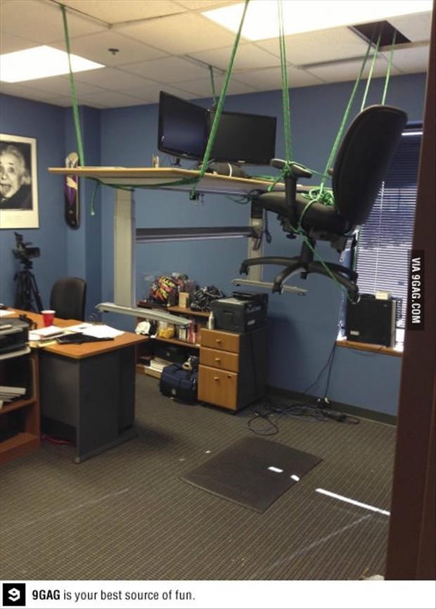 Easy Office Pranks