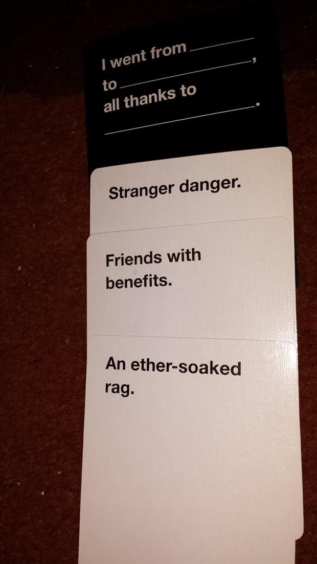 Image of: Cah Cards Against Humanity 14 Dumpaday The Best Of