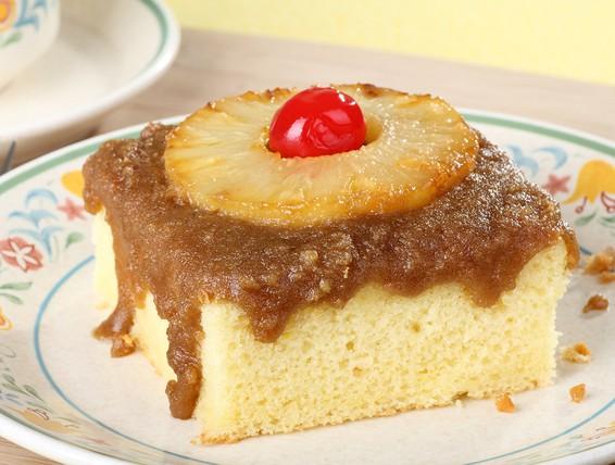 Down Upside Pineapple Cake Perfect