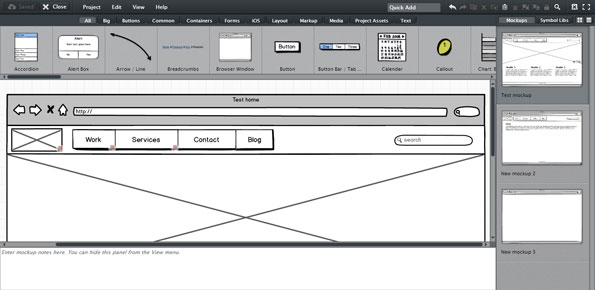 Five Good Tools for Wireframing   Welcome to Our Business Analytics     The export has all the wireframes on one HTML page  making demonstrating  interactivity awkward  No masters  Not having masters makes taking  advantage of the