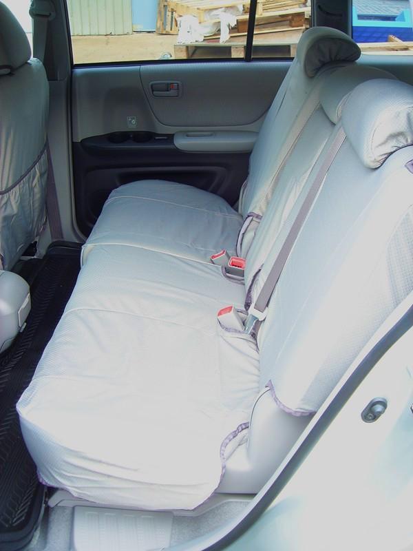 2004 2007 Toyota Highlander Complete 3 Row Set Front