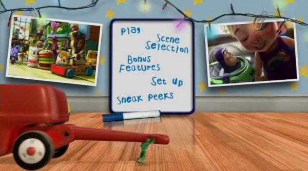 Set 2 Toy Story Dvd Menu