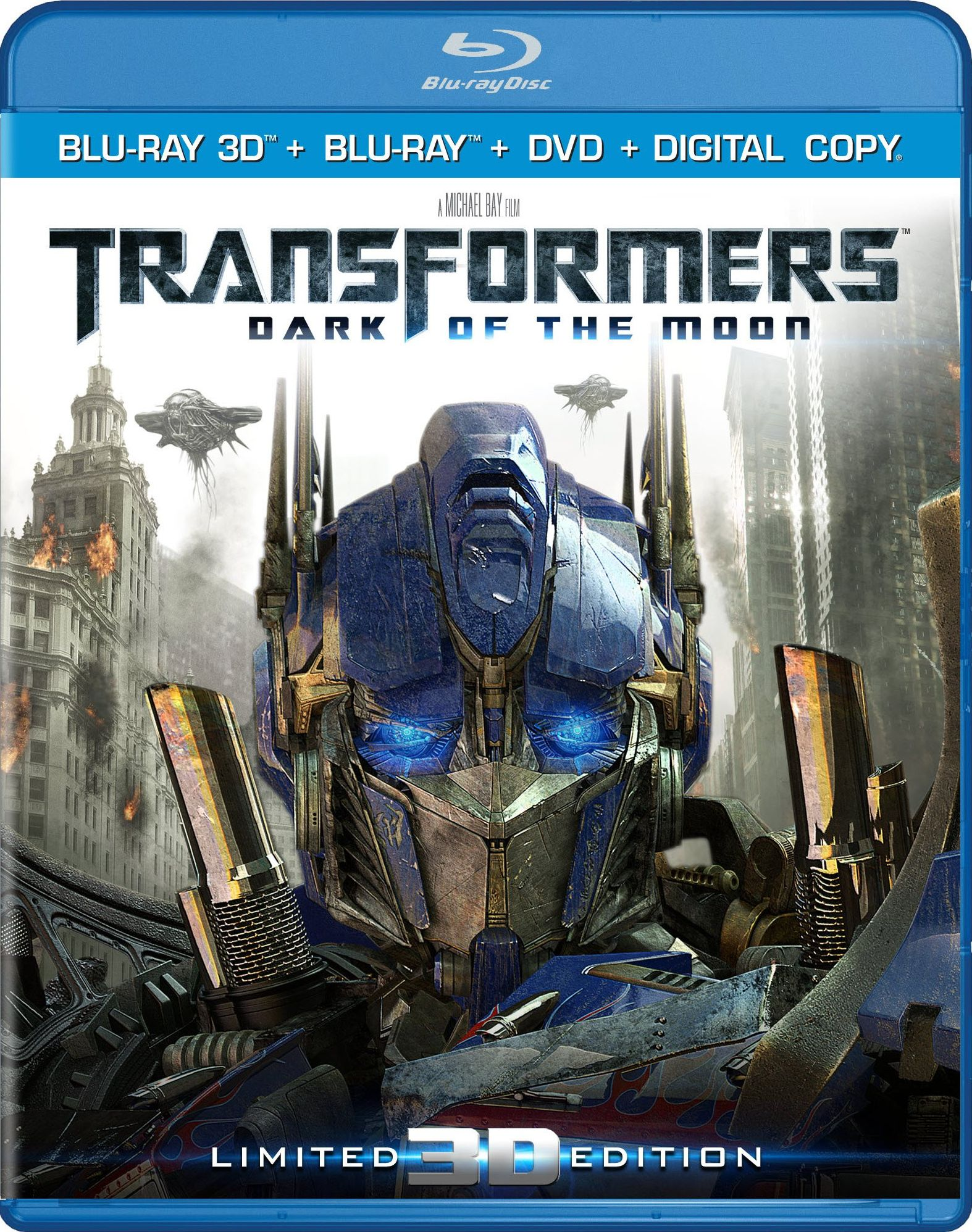 Transformers: Dark of the Moon DVD Release Date September ...