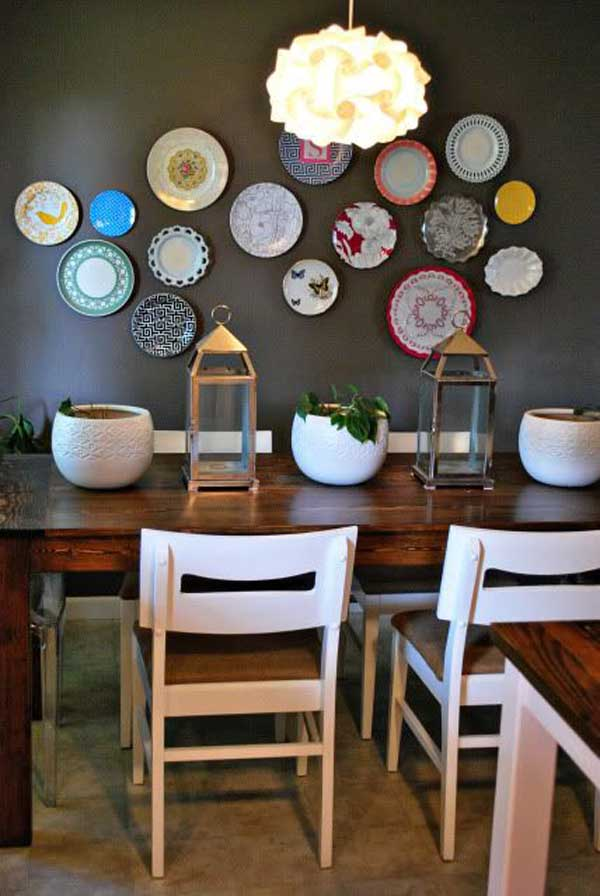 Kitchen Decor And Dining Wall Room