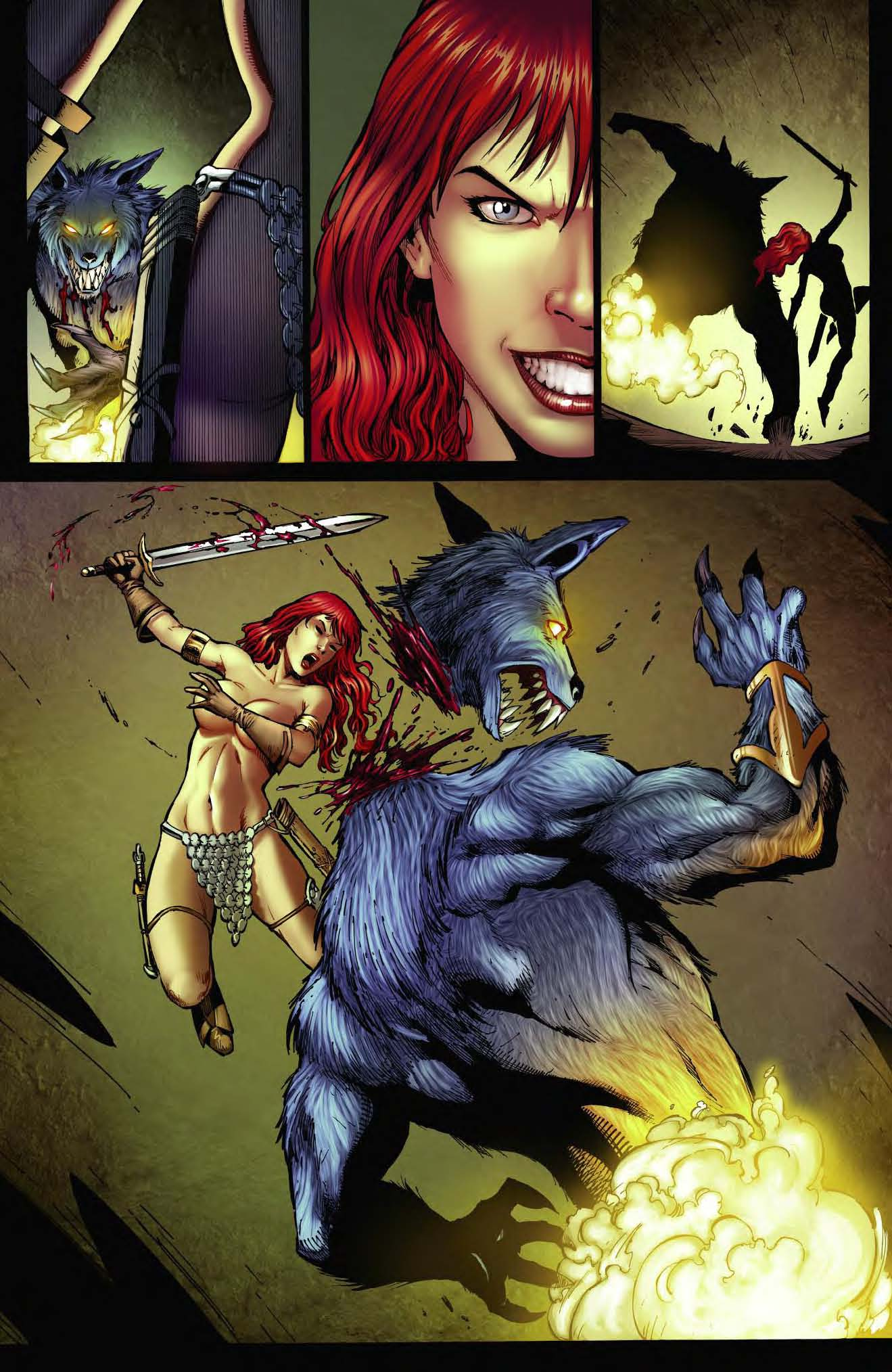 Dynamite 174 Red Sonja Unchained Tpb