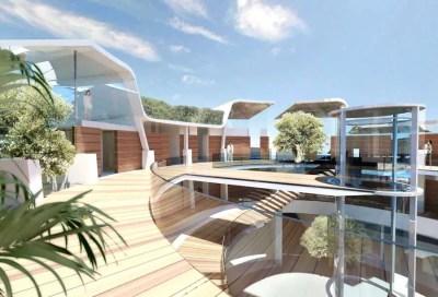 Solta Island Resort, Rotating Hotel Croatia - e-architect