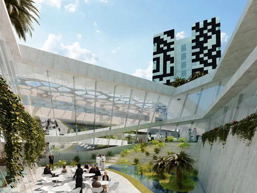 Code Unique Hotel Dubai E Architect