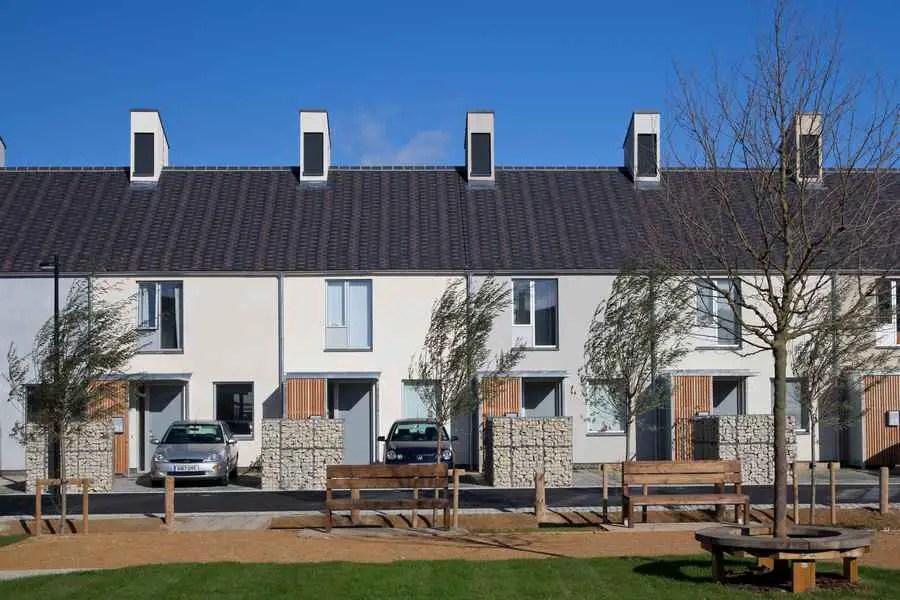 The Triangle Hab Oakus England Architect Greensquare