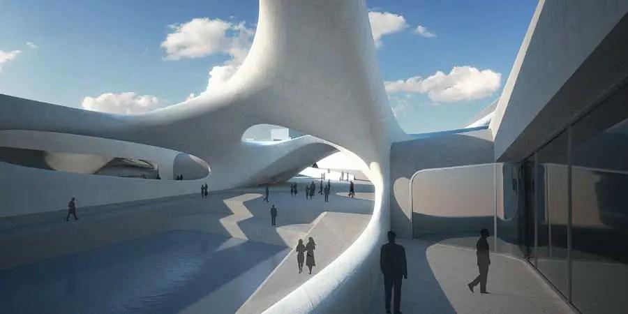 Regium Waterfront, Zaha Hadid Italy, Architect - e-architect