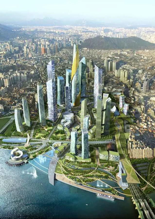 Archipelago 21 Seoul Korean Masterplan Seoul Masterplan