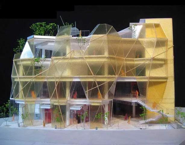 Yellow Diamond Seogyo Building Hongdae Seoul E Architect