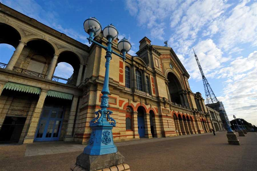 Alexandra Palace Building London Ally Pally E Architect