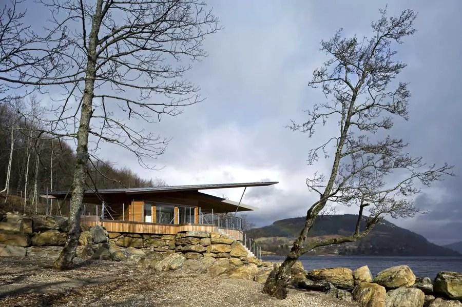Loch Tay Boat House Highlands Property Scottish