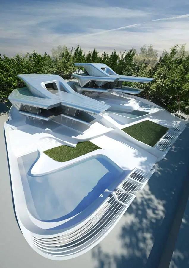 Nassim Villas Singapore Luxury Houses Zaha Hadid Homes