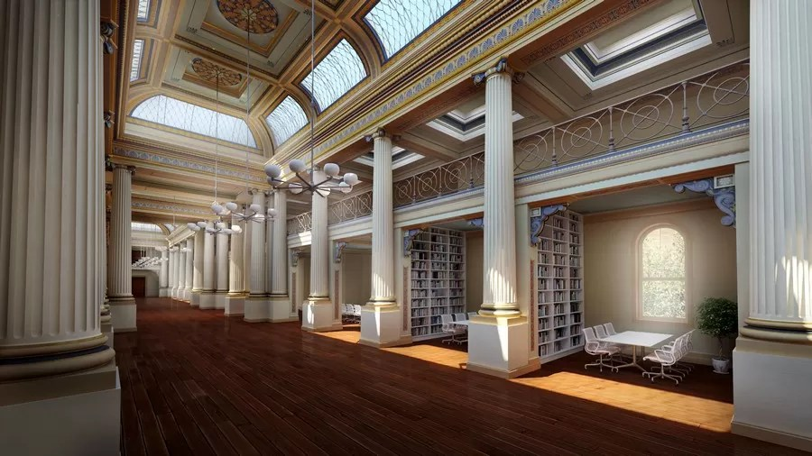 State Library Of Victoria Vision 2020 Redevelopment E
