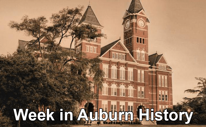 This Week in Auburn History: January 22 - February 2 - E2C ...