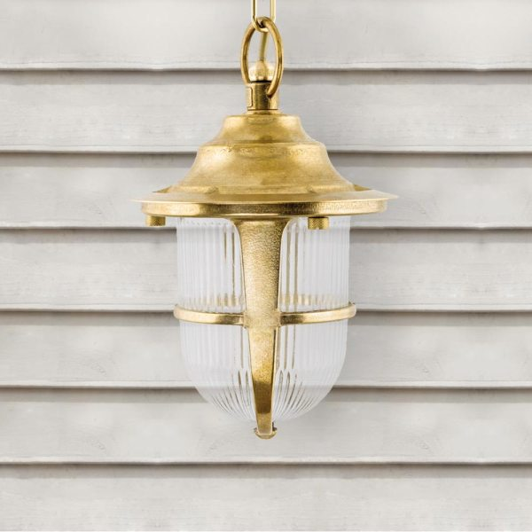 outdoor brass pendant # 16