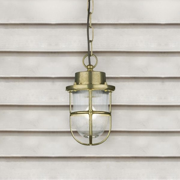 outdoor brass pendant # 2