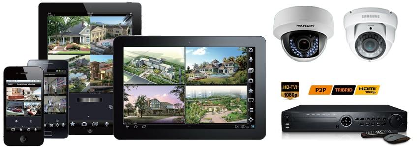 Alarm Burglar Systems Camera